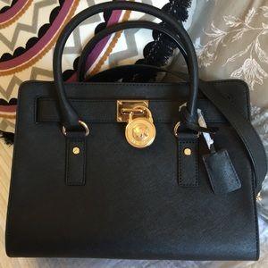 NWT ✨ AUTHENTIC Michael Kors Hamilton Bag MEDIUM